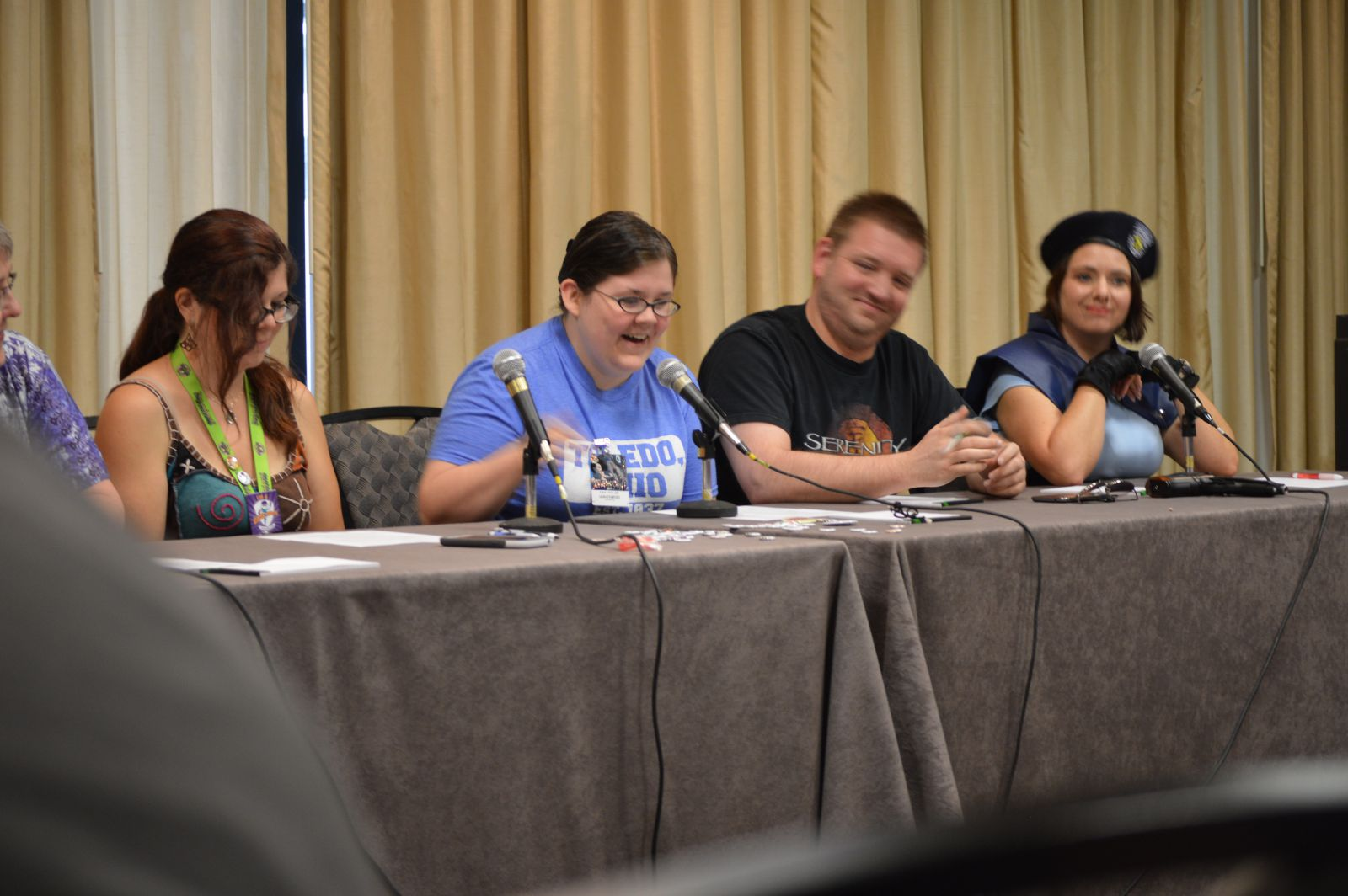 "A panel discussion on ""Resurrection in the Whedonverse."""